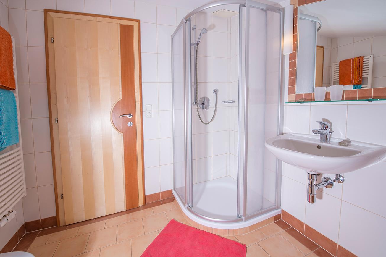 Dusche und WC FEWO Edwein